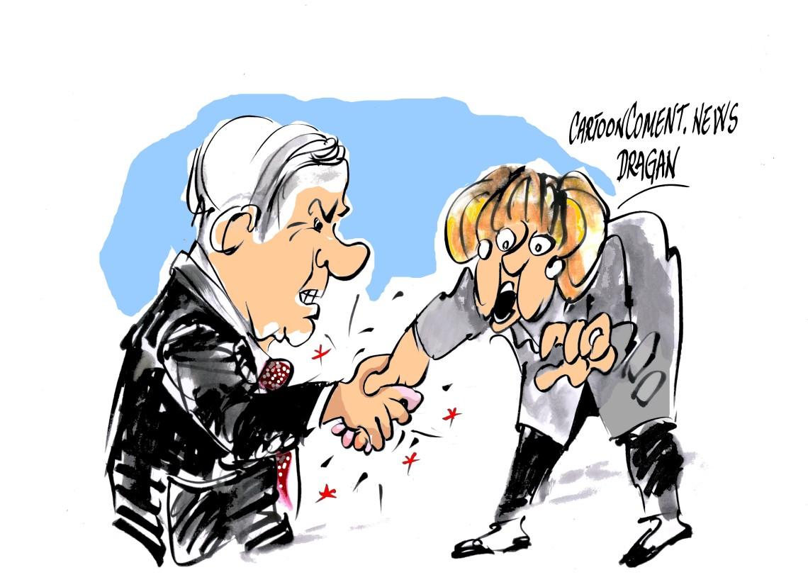 Merkel recibe a Netanyahu