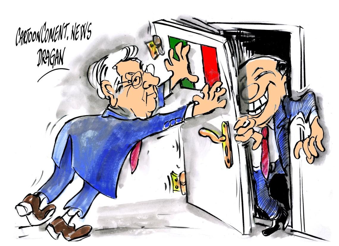 """Mario Monti-Silvio Berlusconi-""""regreso"""""""