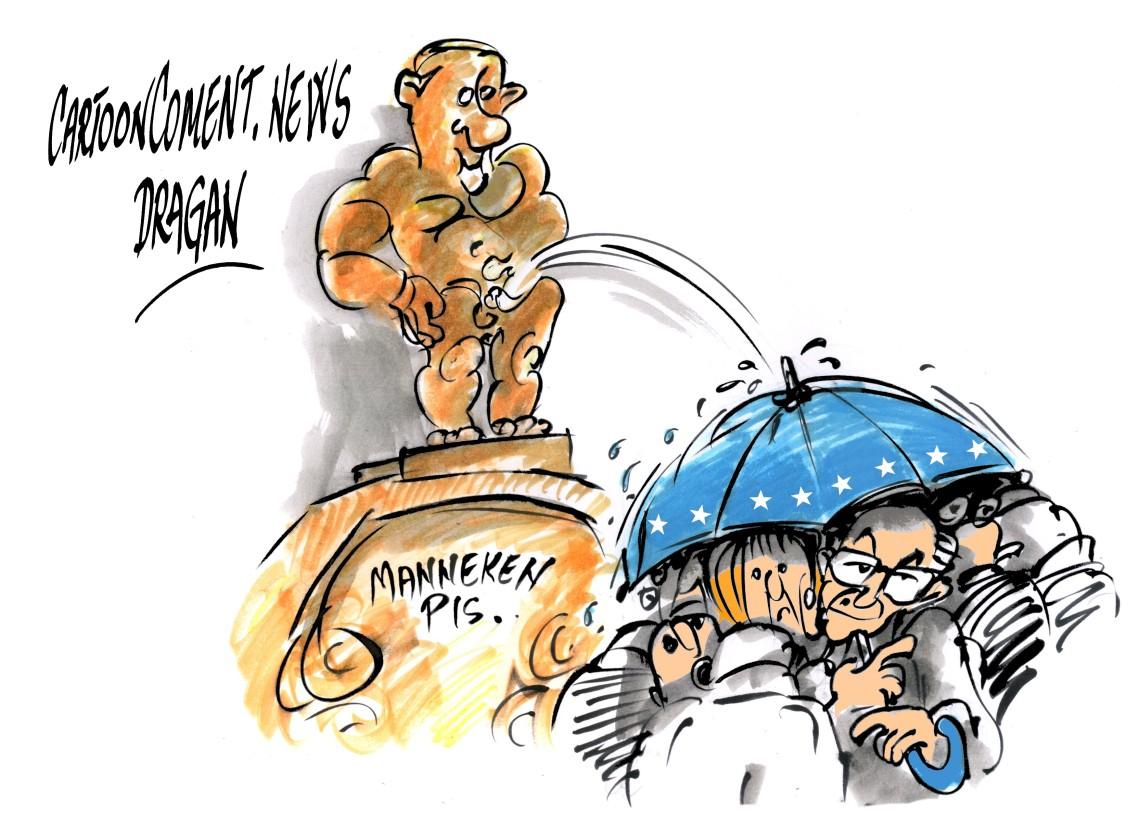 "Bruselas-Van Rompuy-Vladimir Putin-""Mannerken Pis"""