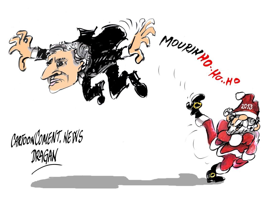 Real Madrid-2013- 'despide' a Mourinho