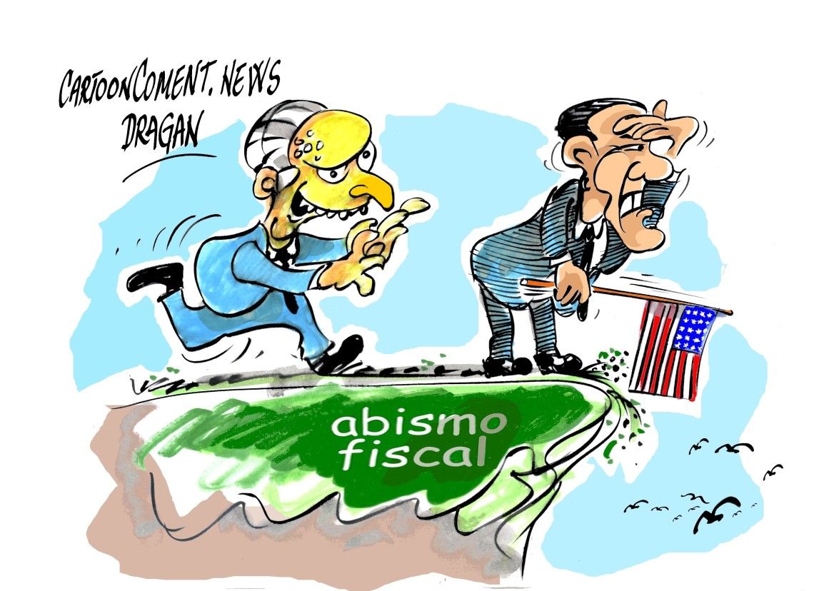 "Barack Obama-señor Burns-""abismo fiscal"""