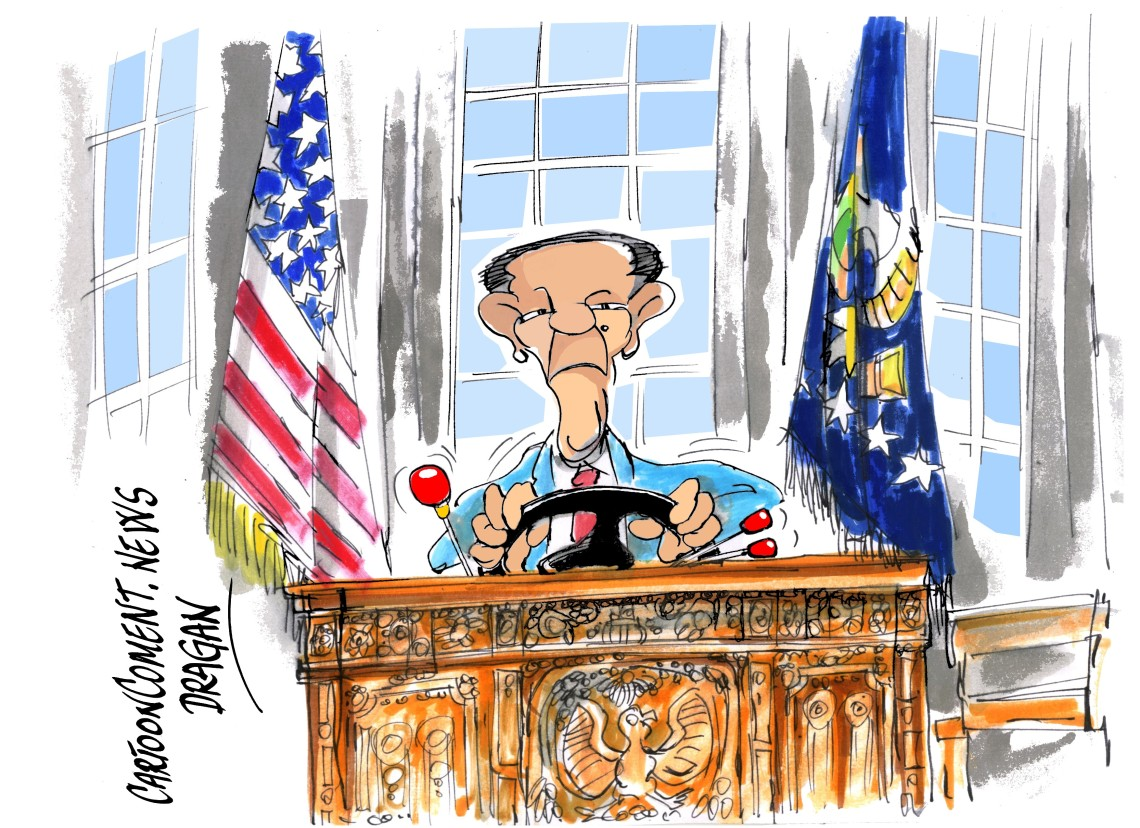 """Barack Obama-""""Conduciendo"""""""