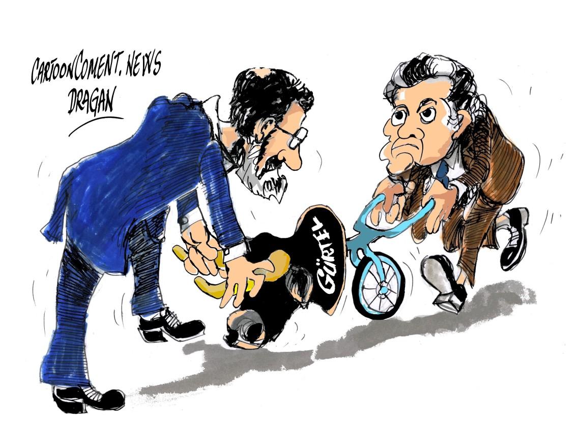 """Mariano Rajoy-Luis Barcenas- """"cogiendo al toro por los cuernos"""""""