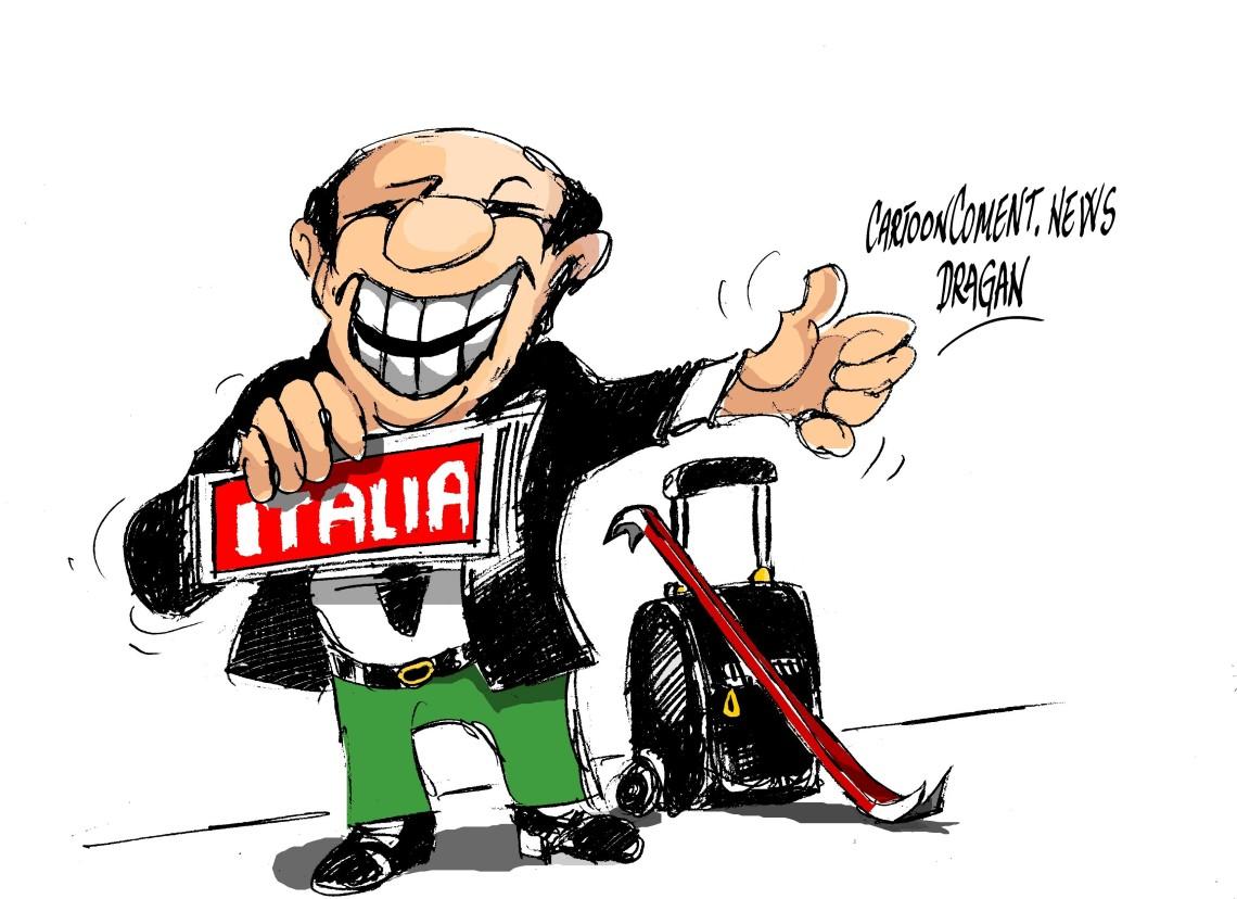 """Silvio Berlusconi-""""la vuelta"""""""