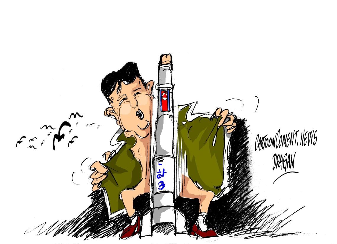 """Kim Jong-un-""""en posición de combate"""""""