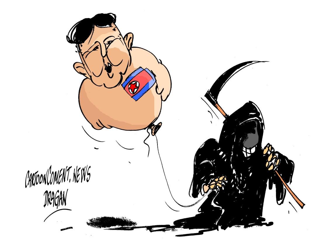 """Kim Jong-un-""""globo"""""""