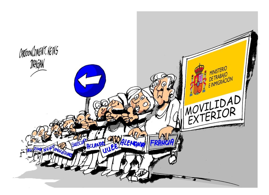 """los jóvenes-""""movilidad exterior"""""""