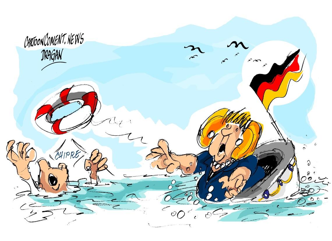 """Angela Merkel-Chipre-""""rescate"""""""
