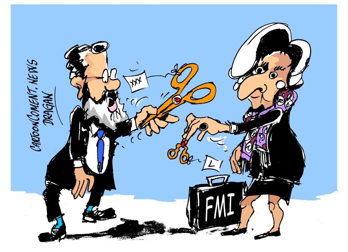 "Mariano Rajoy-Christine Lagarde-""ajuste fiscal"""