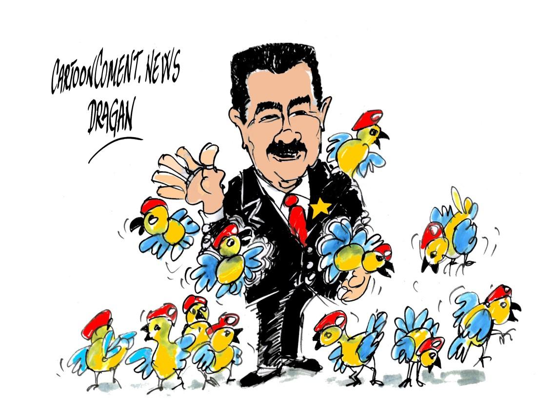 """Nicolás Maduro-""""pajaritos"""""""