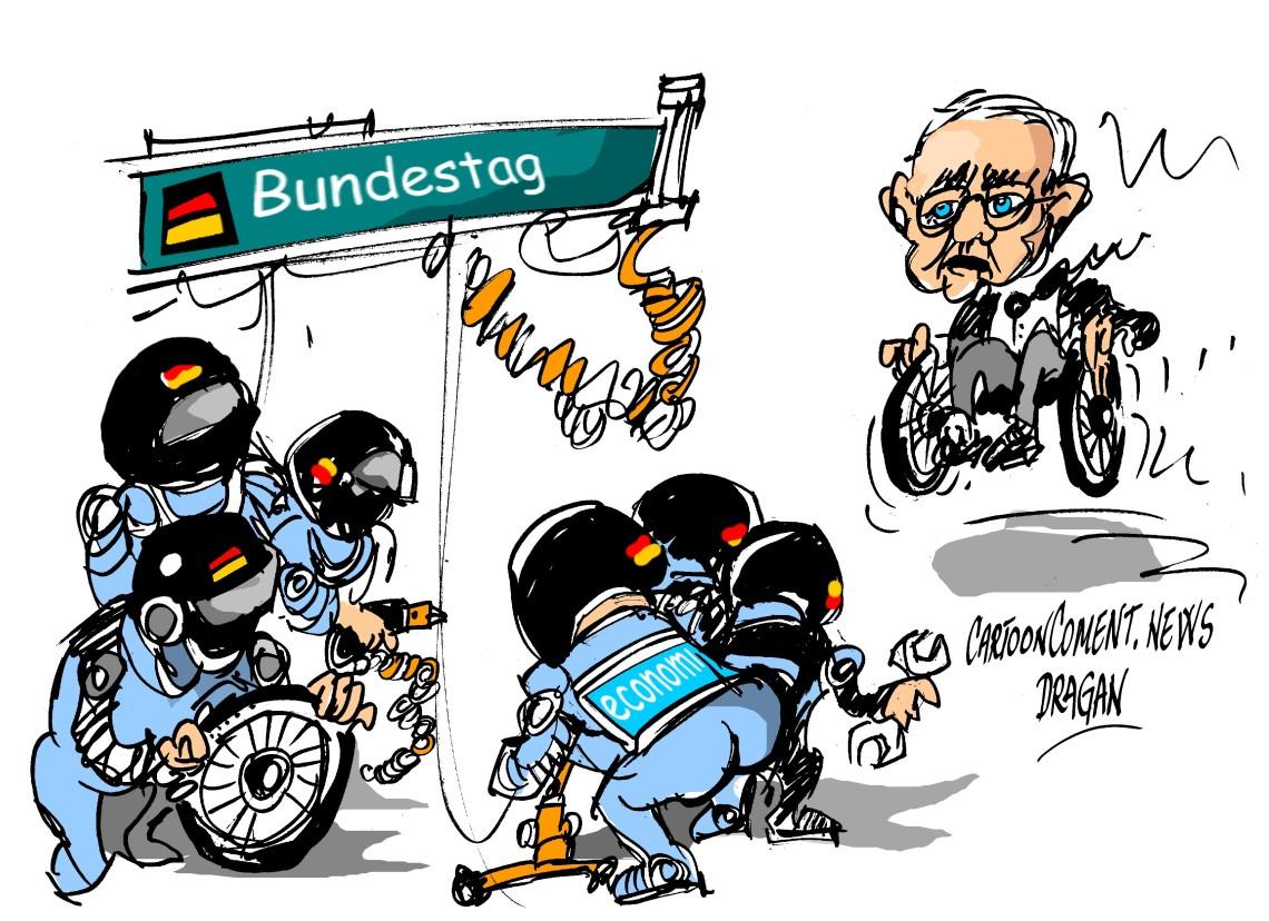 """Wolfgang Schäuble- Bundestag-""""Box"""""""