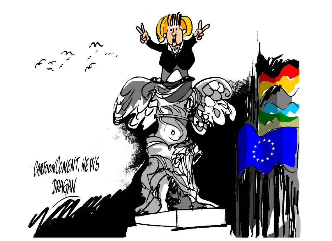 "Angela Merkel-""Victoria"""