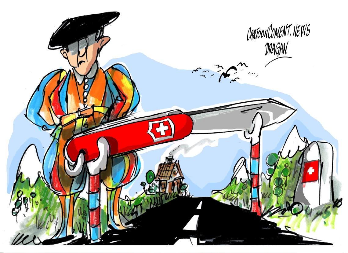 """Suiza-"""" trabas """""""