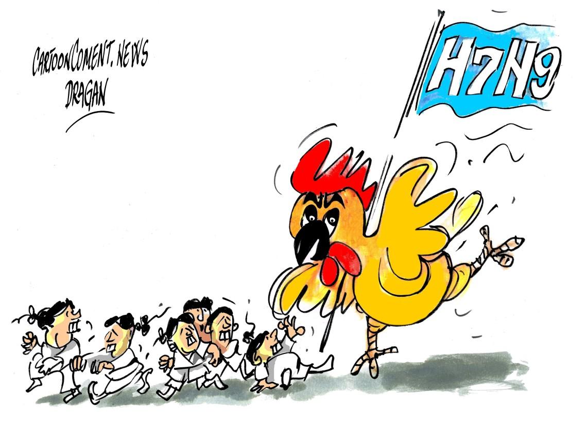"""H7N9-"""" salto"""""""
