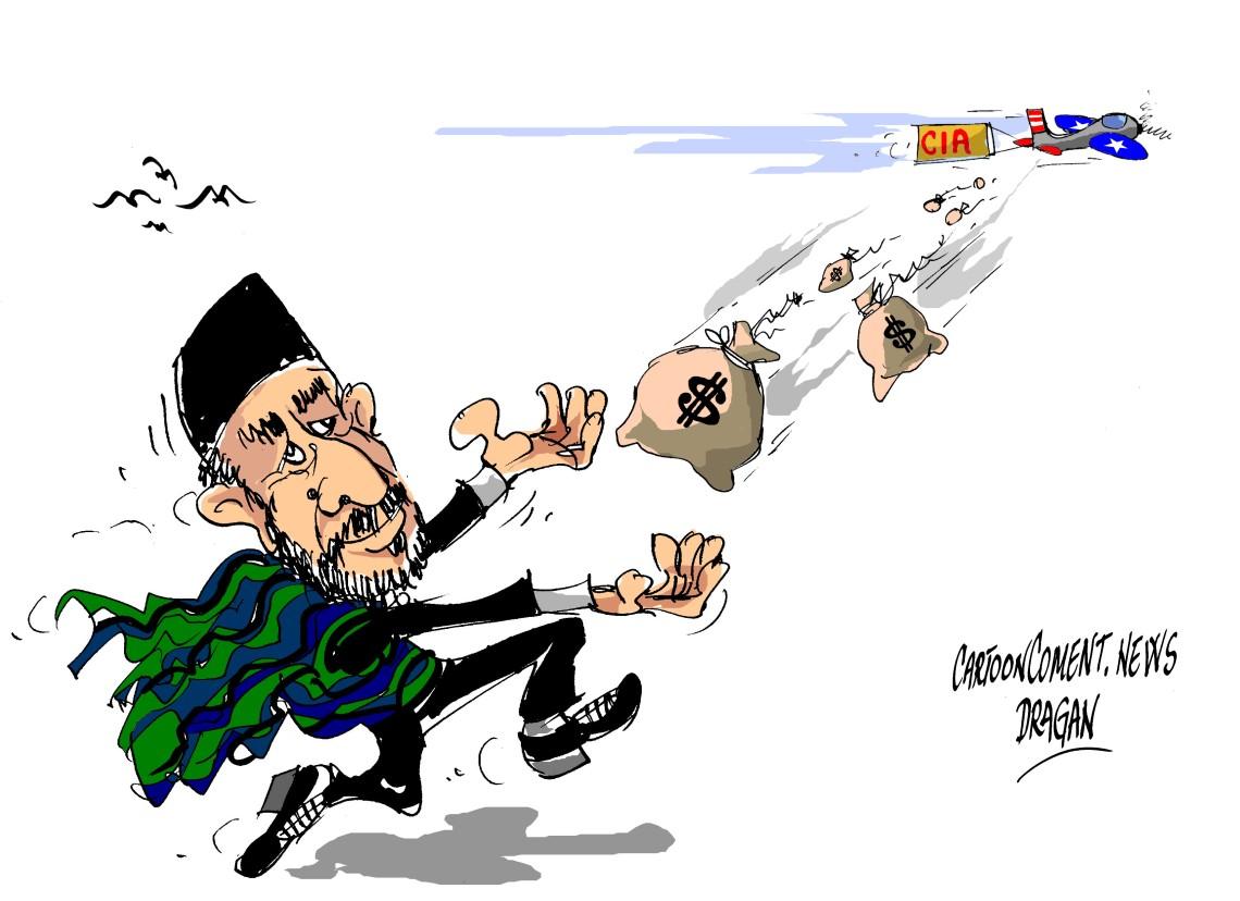 """Hamid Karsai-""""los sacos de CIA"""""""