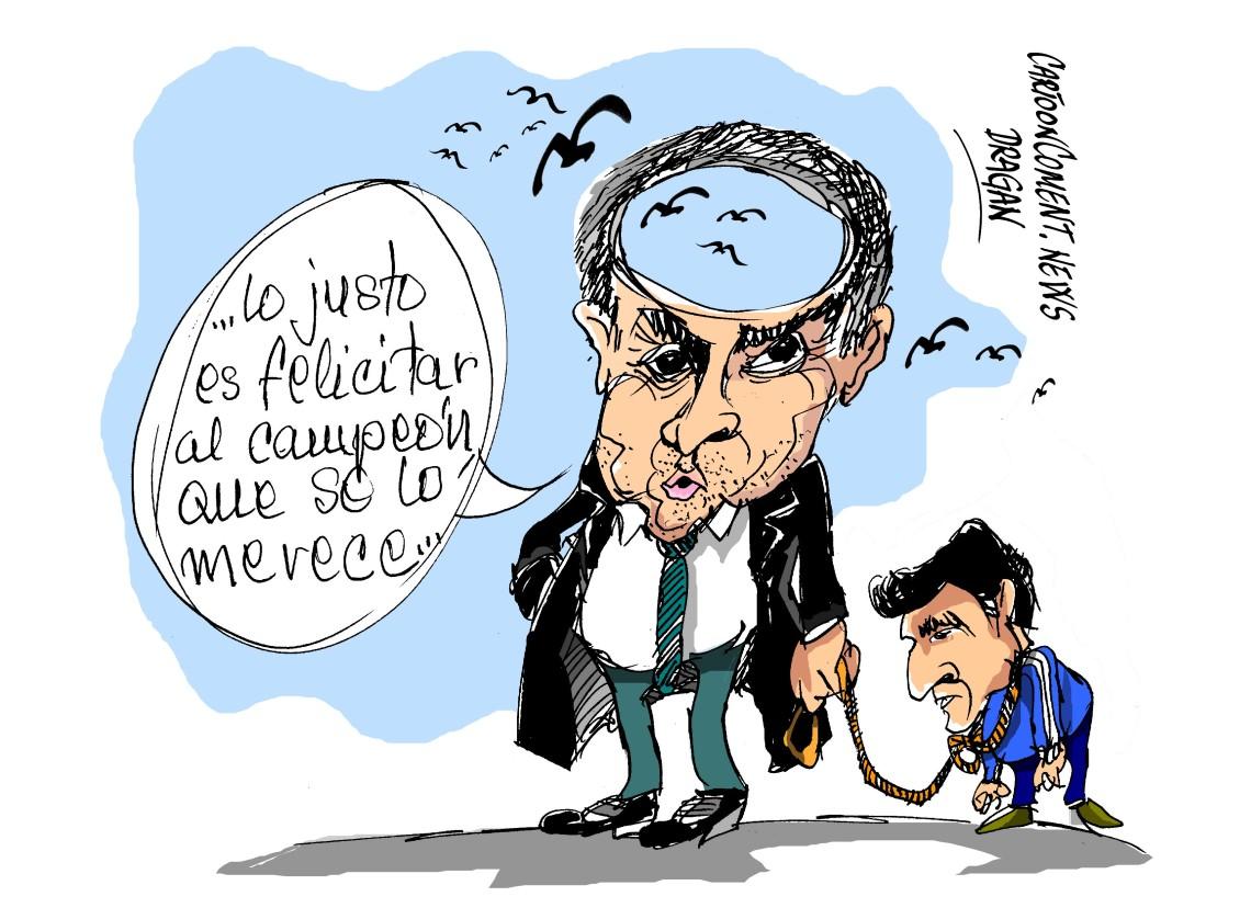 """José Mourinho-""""con la boca pequeña"""""""