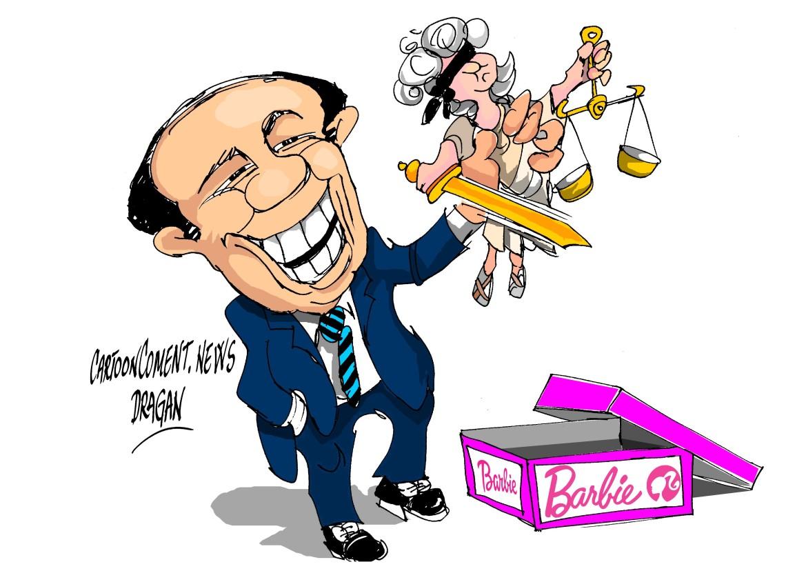 "Silvio Berlusconi-""""Barbie"""