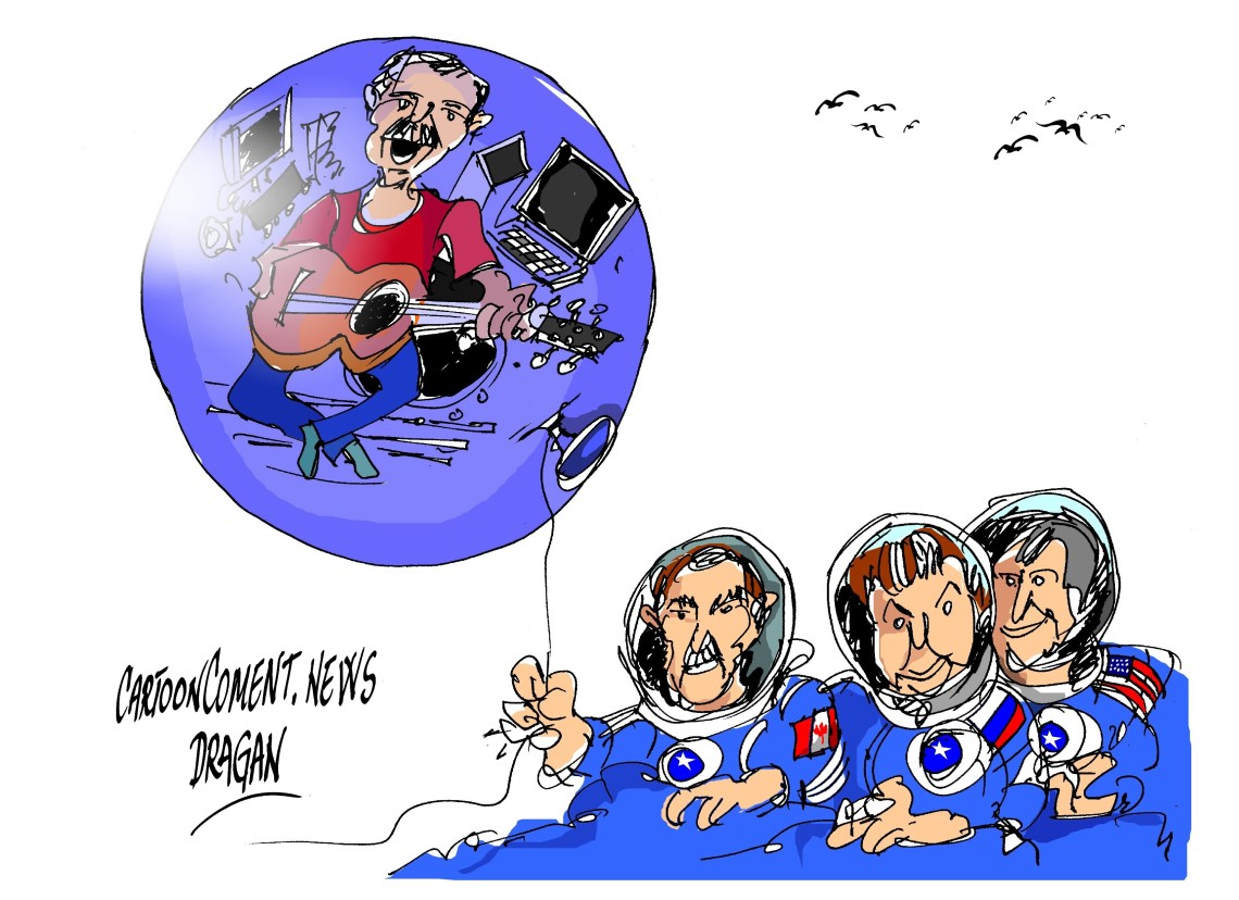 "Chris Hadfield-""globo"""