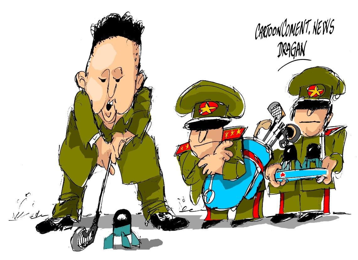 """Kim Jong-un-""""corto alcance"""""""