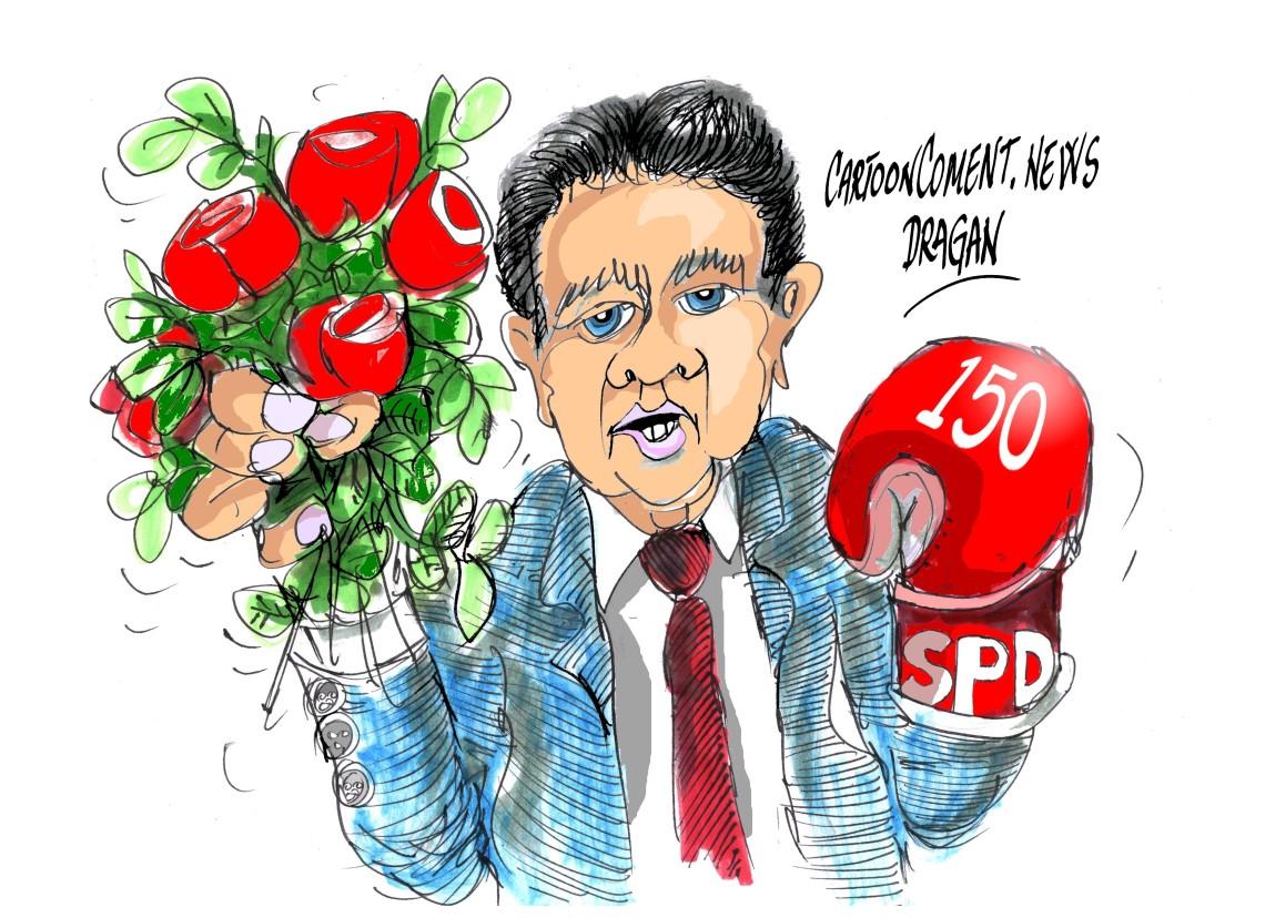 """Sigmar Gabriel-SPD-""""150 años"""""""