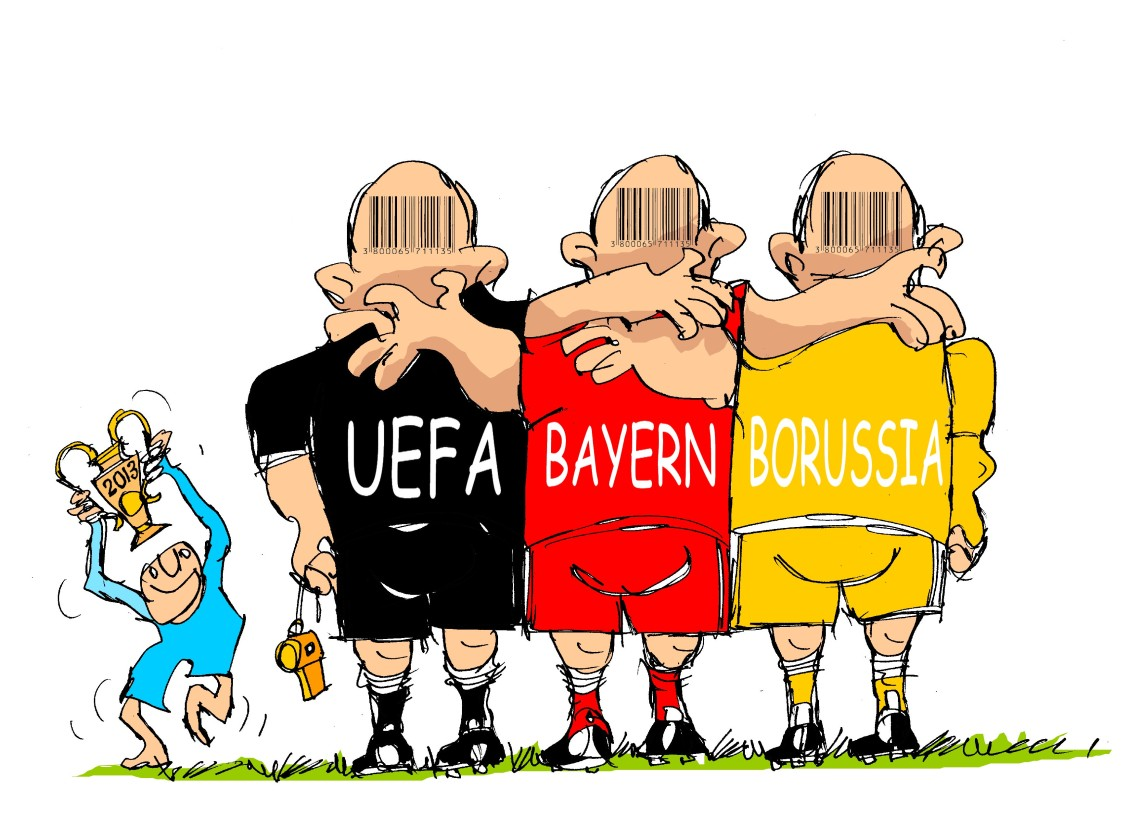 "Champions-""UEFA-Bayern-Borussia"""