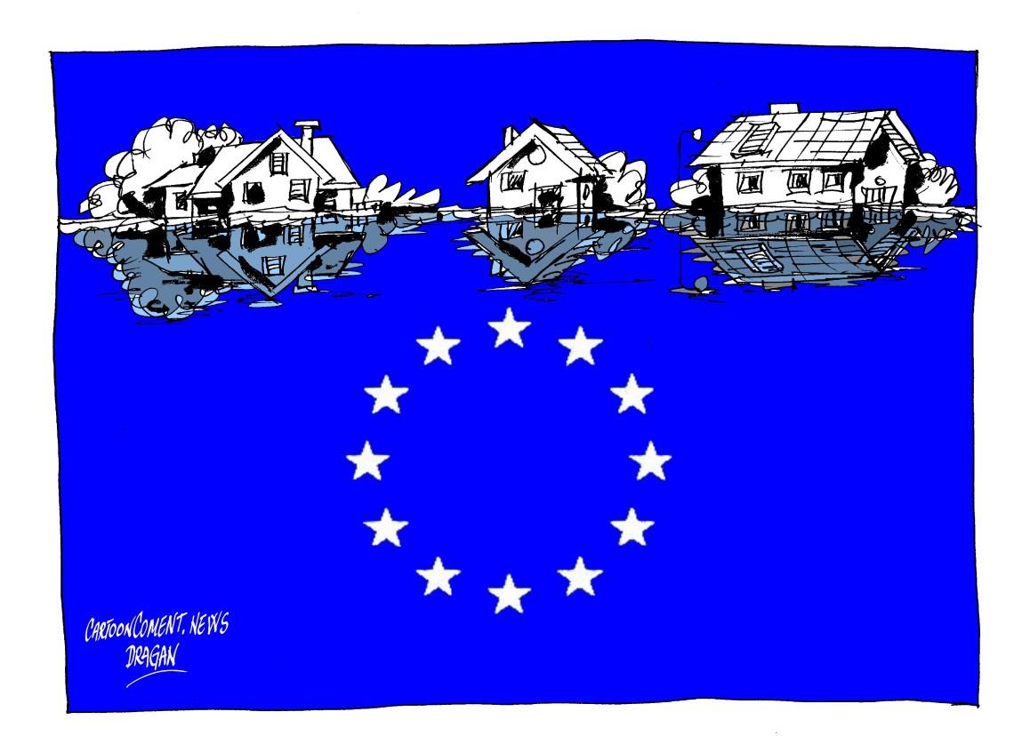 """Inundaciones en Europa Central-""""crisis"""""""