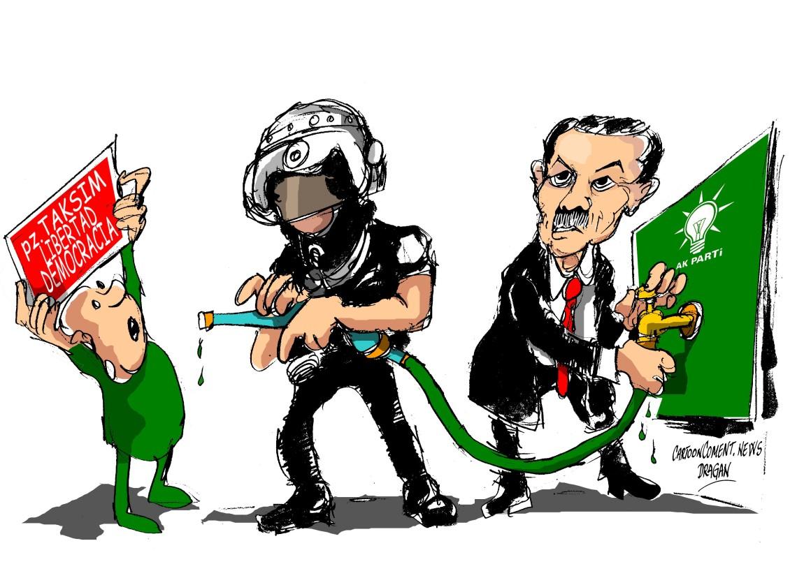 "Turquia-""plaza Taksim"""