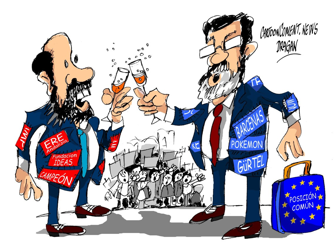 """Alfredo Pérez Rubalcaba-Mariano Rajoy-""""postura común"""""""