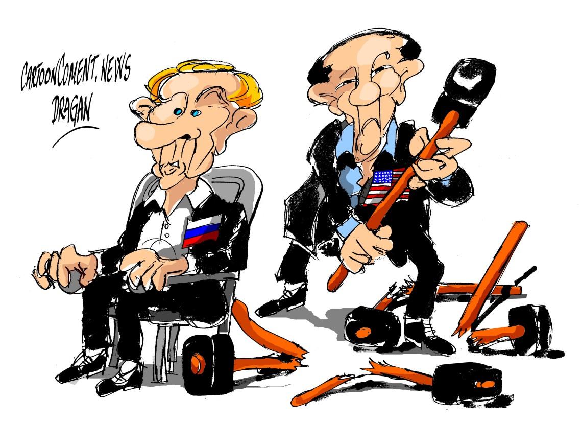 Vladimir Putin- Barack Obama-G8