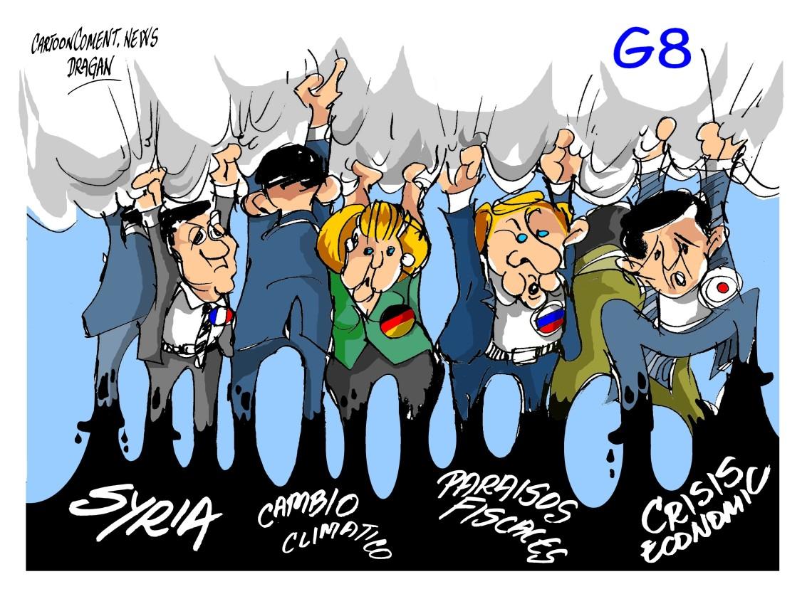 Los líderes del G-8