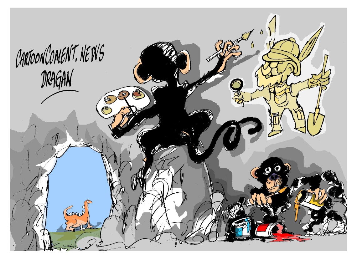 "Arte chimpancé-""investigaciones"""