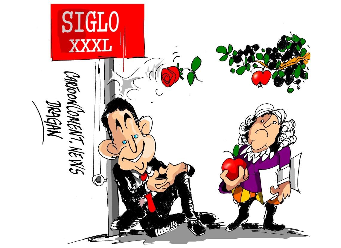 "Zapatero en el Club Siglo XXI-""frase"""