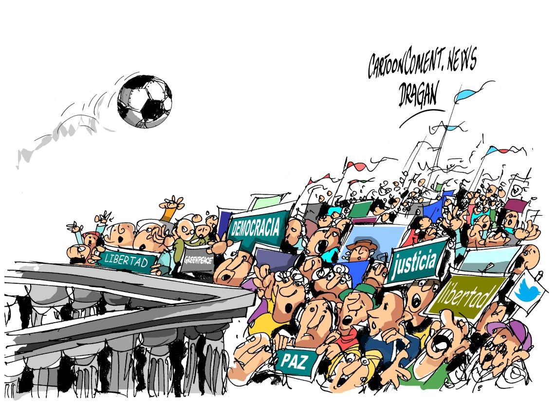 Las manifestaciones sociales