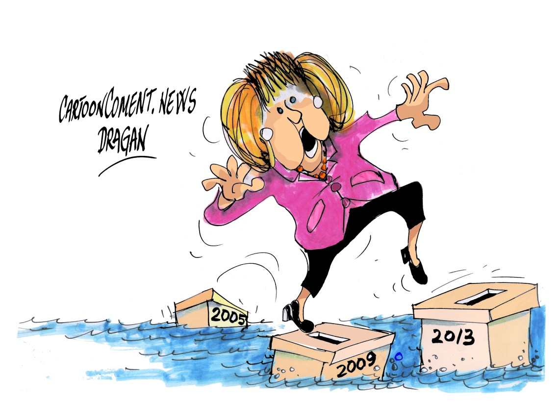 """Angela Merkel-""""tercer mandato"""""""