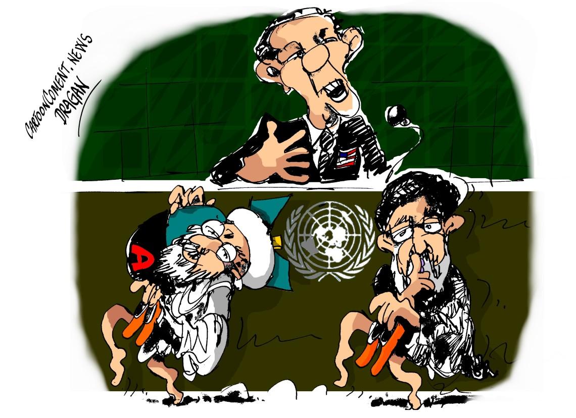 Barack Obama-ONU- Irán