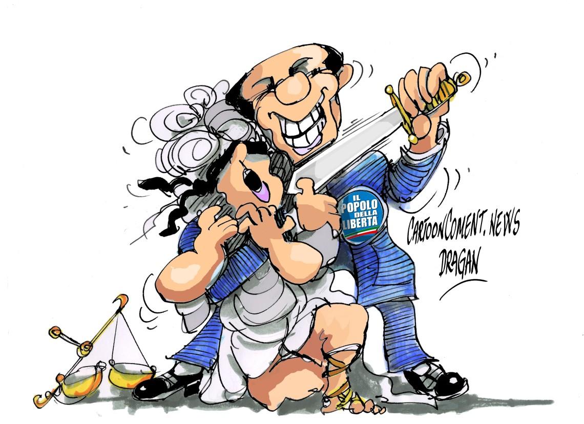 "Silvio Berlusconi-""problemas legales"""