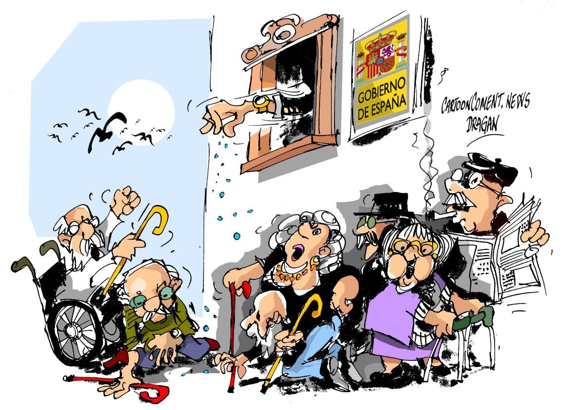 """Gobierno-""""Las pensiones"""""""