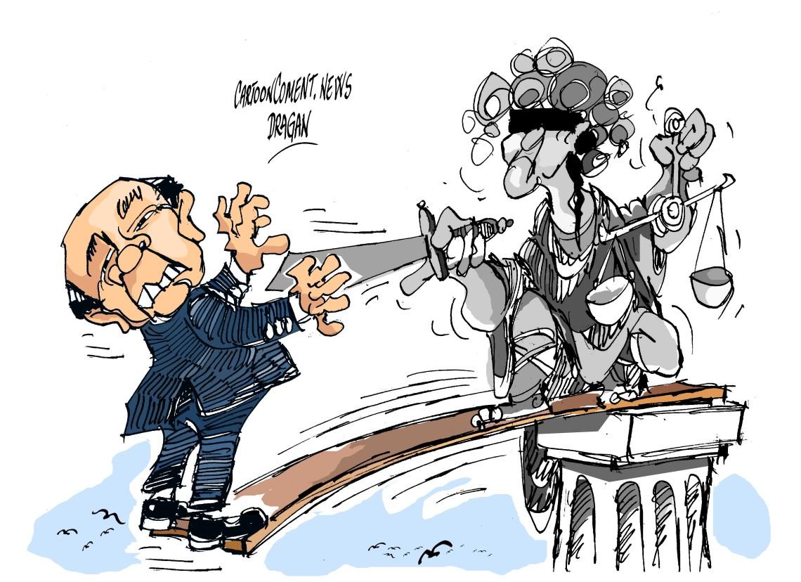 "Silvio Berlusconi-""frente judicial"""