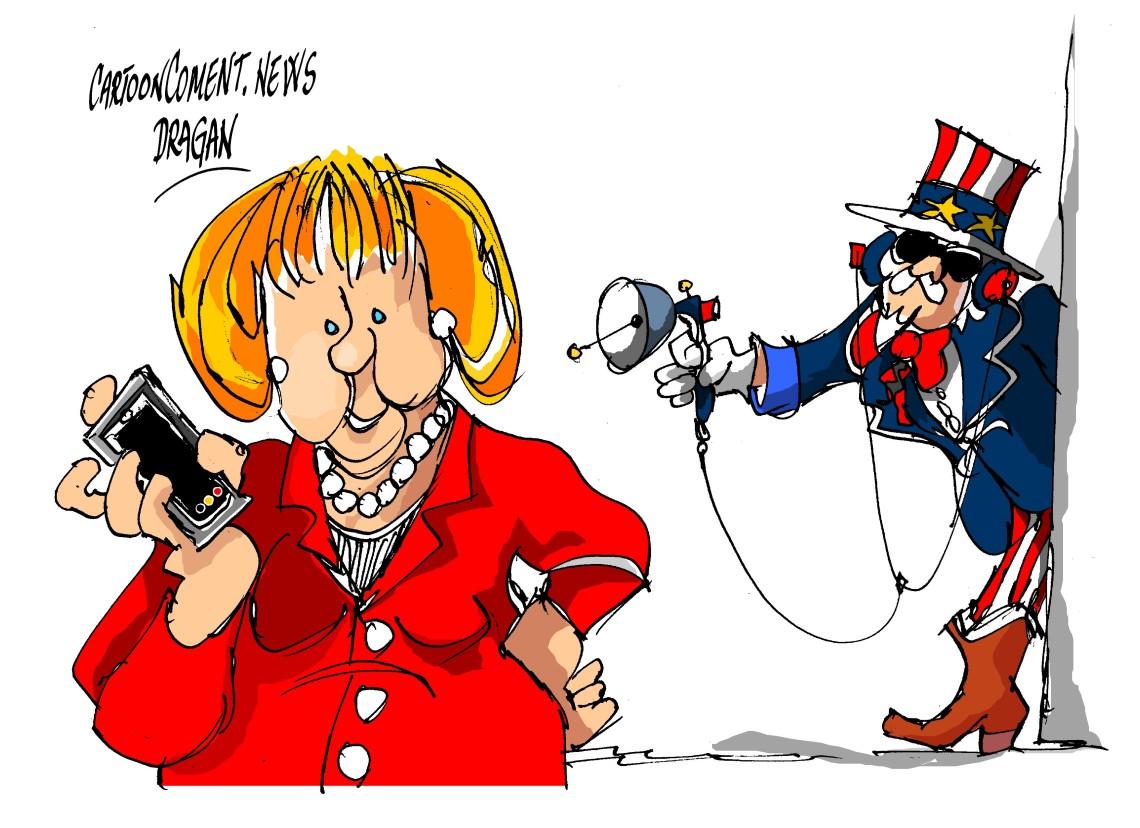 "Angela Merkel-"" interceptación"""