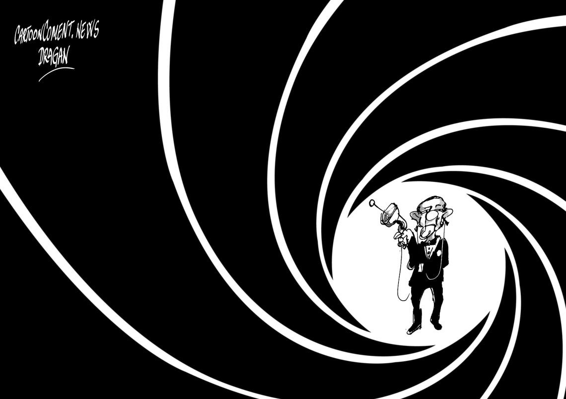 """Barack Obama-""""007"""""""