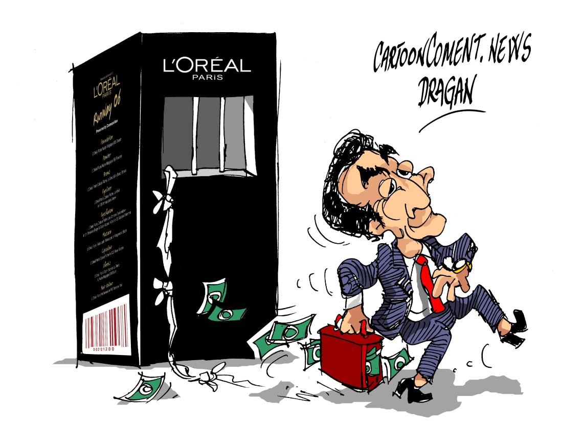 """Nicolas Sarkozy- """"L'Oréal"""""""