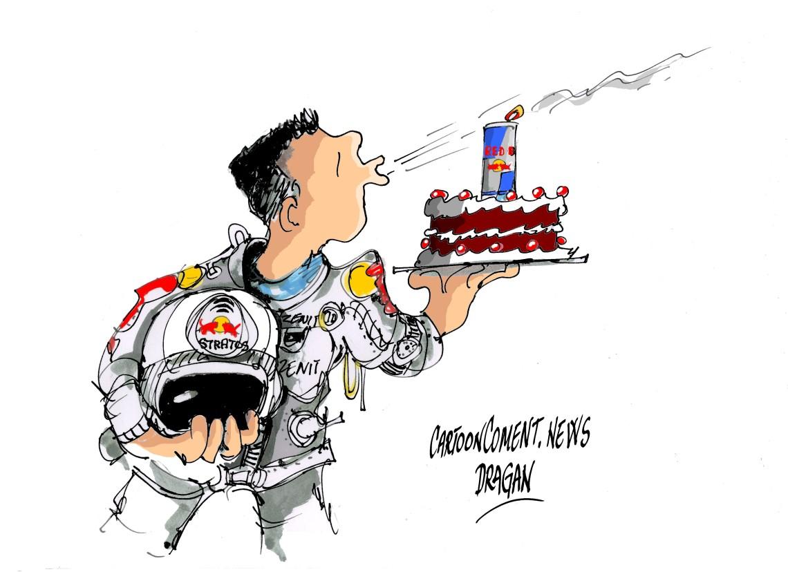 """Felix Baumgartner-""""primer aniversario"""""""