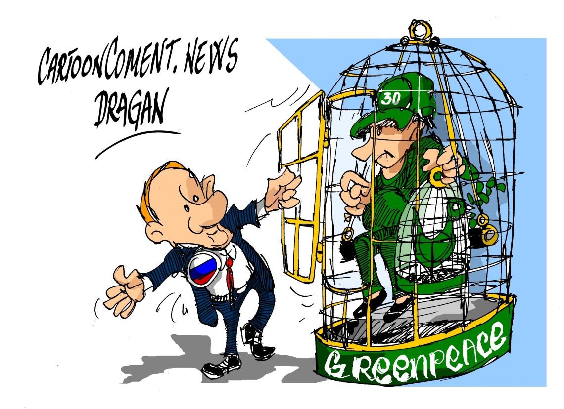 "Putin-"" Greenpeace """