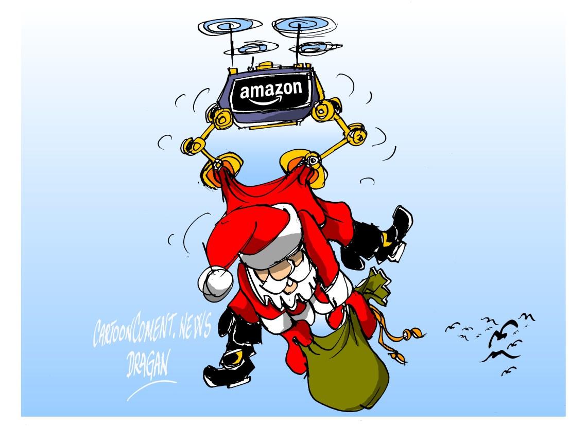 """Amazon- """"papa drones"""""""