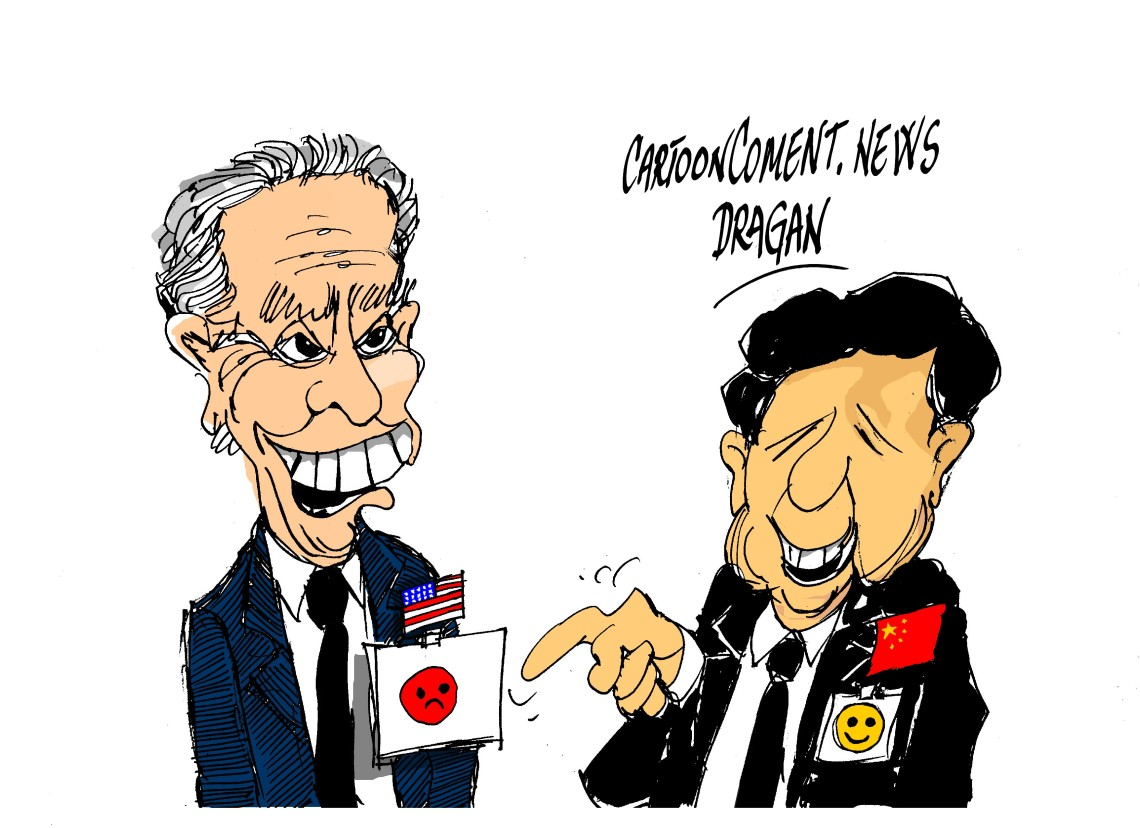"Joe Biden- Xi Jinping-""Japon"""