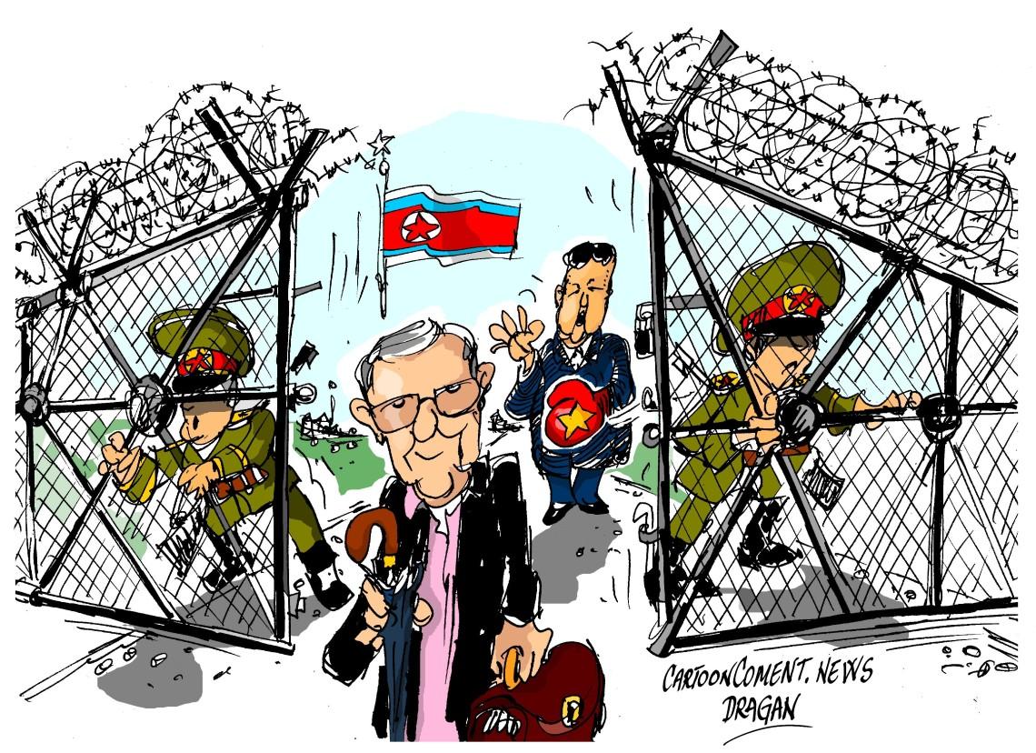 "Merrill Newman-""Corea del Norte"""