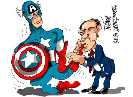 """Barack Obama-""""Capitán América"""""""