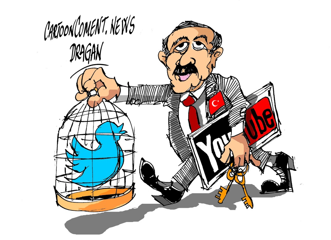 "Erdogan-""Twitter- YouTube"""