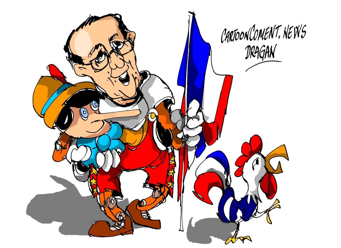 """François Hollande-"""" indicios"""""""