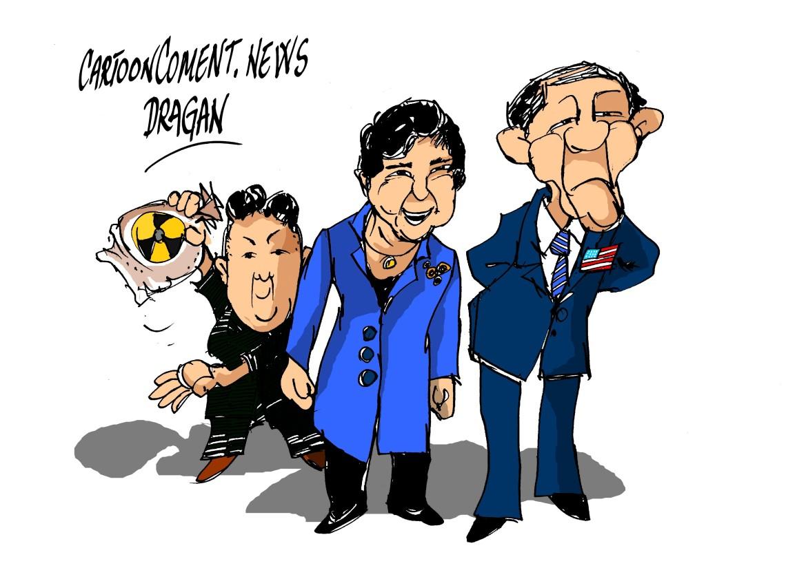 Barack Obama-Park Geun-Hye-Kim Jong-un